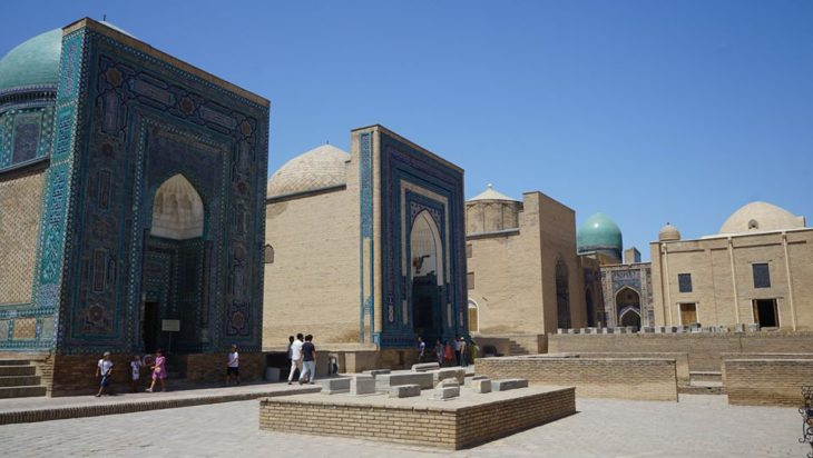 Przy okazji Adam Bul zaliczył również Samarkandę