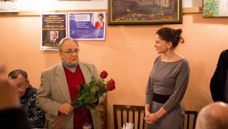 Posłanka Monika Rosa z Nowoczesnej w Siemianowicach Śląskich