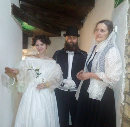 Duchy jak malowanie, od lewej Laura, Hugo i Wanda.