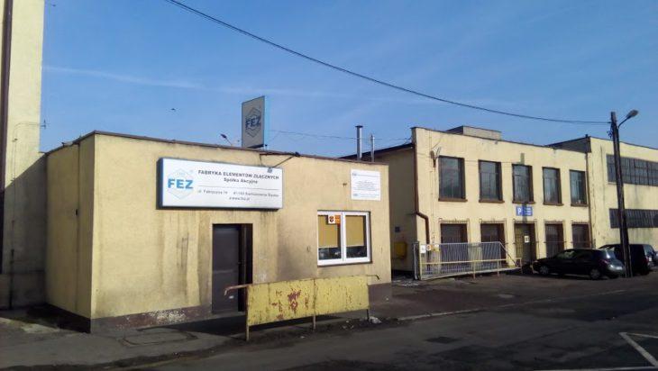 1. Wejście do Fabryki Elementów Złącznych