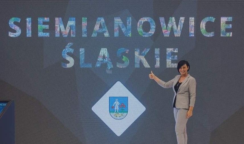 Agnieszka Gładysz I Zastępca Prezydenta Siemianowic Śląskich na Kongresie przedstawiła ofertę inwestycyjną miasta.