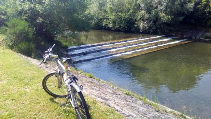 Rowerem nad Brennicą