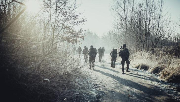 30.11.2018 - Gliwice Wojska Obrony Terytorialnej Petla taktyczna 13 SBOT Fot. Irek Dorozanski
