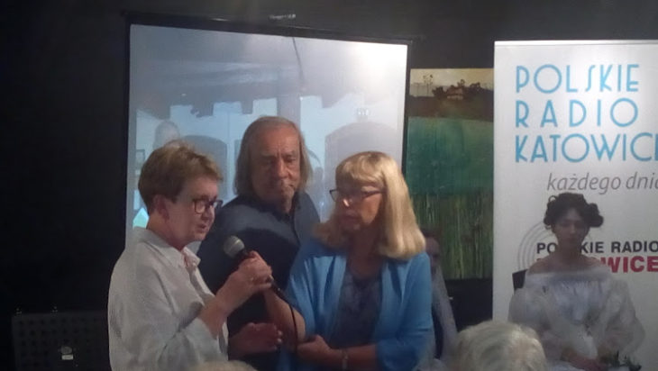 Od lewej Krystyna Spyrka, Bogdan Widera i Beata Tomanek.