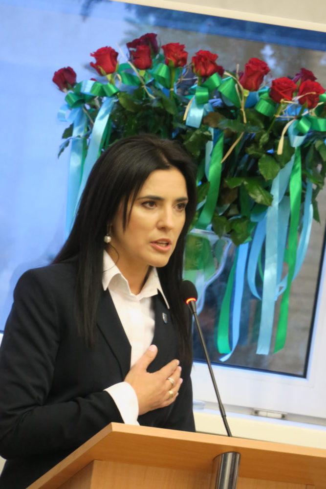 Małgorzata Bednarek, wójt gminy Bobrowniki