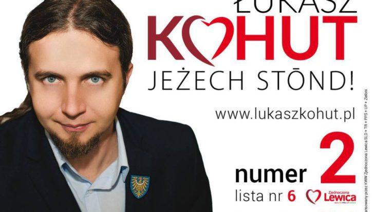 Łukasz Kohut z Rybnika, zaprawiony w bojach politycznych. Pełnomocnik Ruchu Wiosna. Może i on się skusi ?