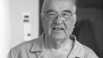 """Doktor Stanisław Sakiel, twórca """"Oparzeniówki"""""""