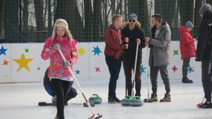 "Curling na ""Pszczelniku"""
