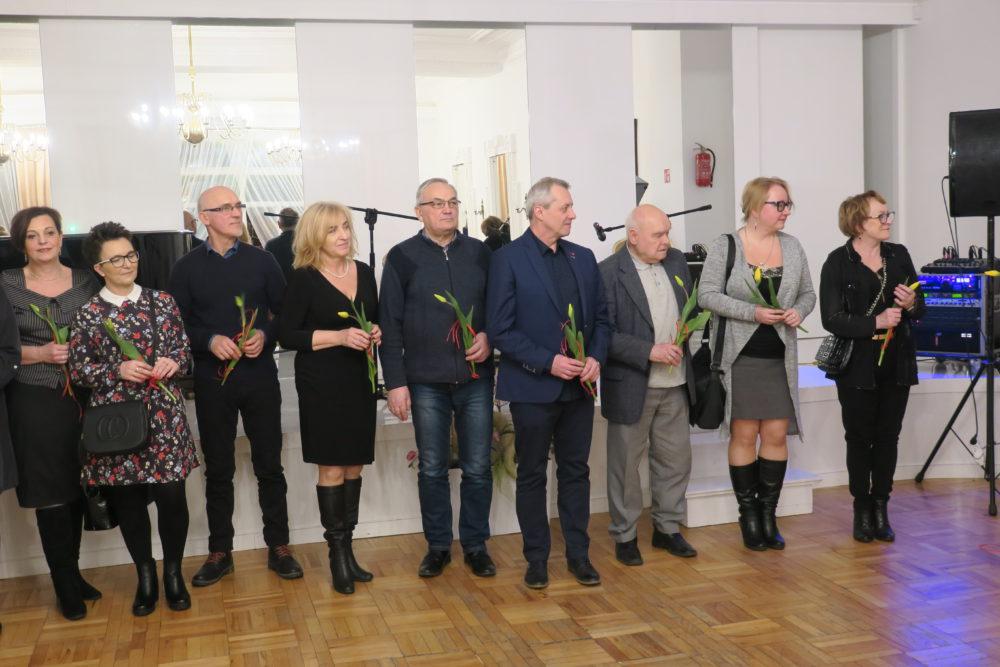 Podczas oficjalnej uroczystości w Sali Lustrzanej.