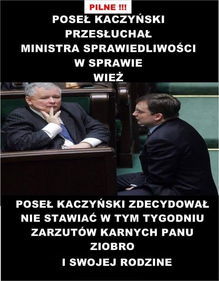 poseł kaczyński