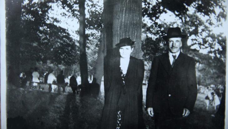 Oma i Opa w parku