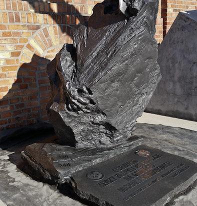 Pomnik w Parku Tradycji.