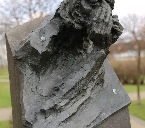 Pomnika Janka Skrzeka w Katowicach.