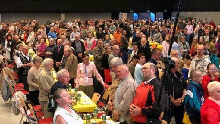 2500 uczestników wielkanocnego śniadania