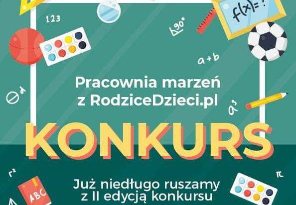 """II edycja konkursu """"Pracownia marzeń z RodziceDzieci.pl"""""""
