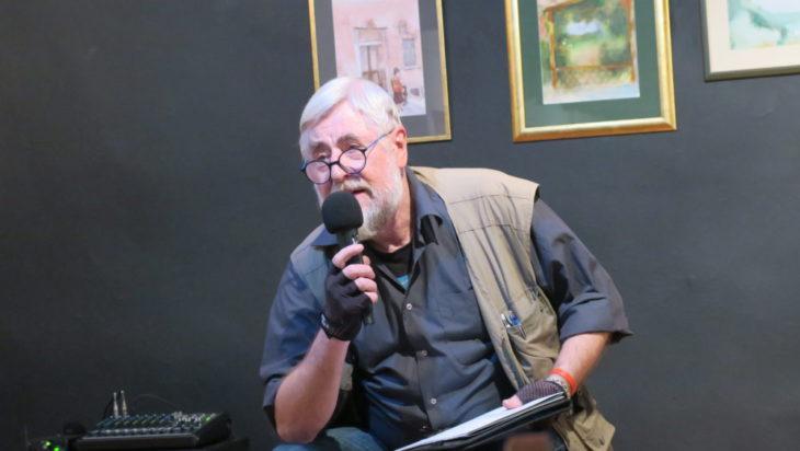 Poeta Bolesław Stelmach.