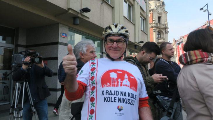 Zdzisław Nekesh Majerczyk zaprasza 11 maja na rajd dookoła Nikiszowca.
