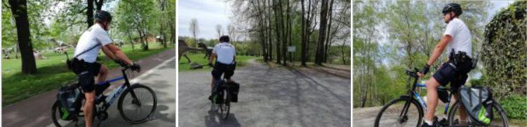 policja rowerowa siemianowice