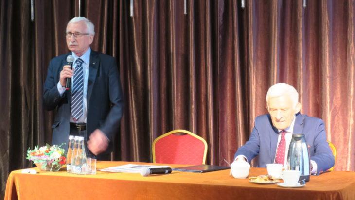 Andrzej Gościniak z numerem 1 na liście Koalicji Europejskiej.