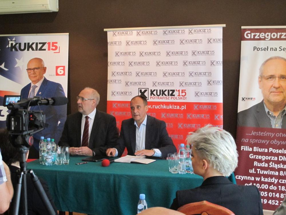 Paweł Kukiz i Grzegorz Długi - Konwent wyborczy Kukiz'15, Gliwice 20 maja 2019