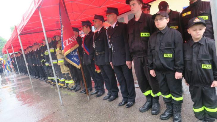 Strażacy duzi i mali.