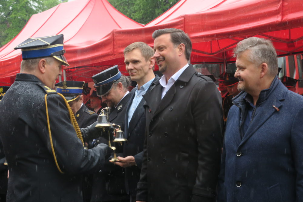 Prezydent Rafał Piech również został uhonorowany.