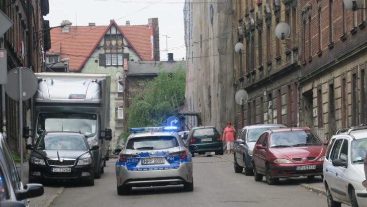 Tym razem policja jest tu na wszelki wypadek.