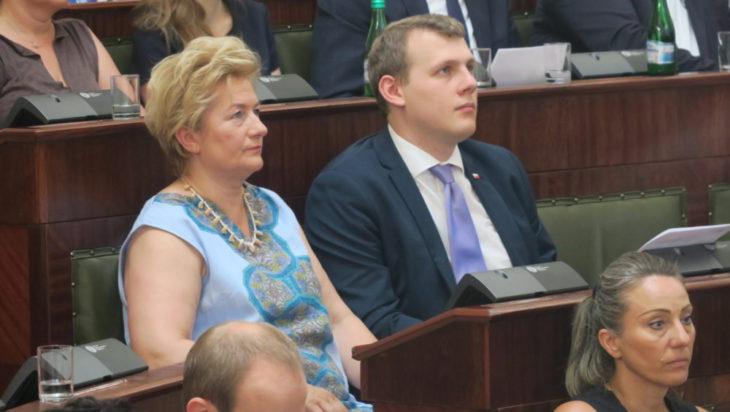 Siemianowice reprezentowali radna Danuta Sobczyk oraz radny Łukasz Rosicki.