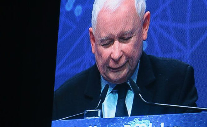 Jarosław Kaczyński mówił o walce z imperium zła. Zabrakło jednak odniesień do regionu, w stolicy którego odbywała się konwencja.
