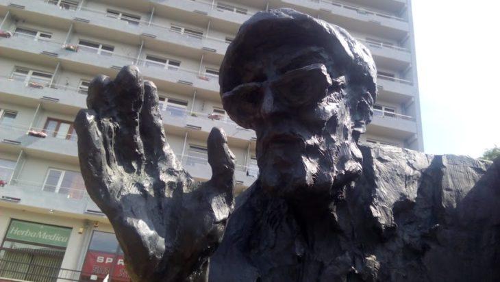 Antoni Halor w nieodłącznym wełnianym berecie.