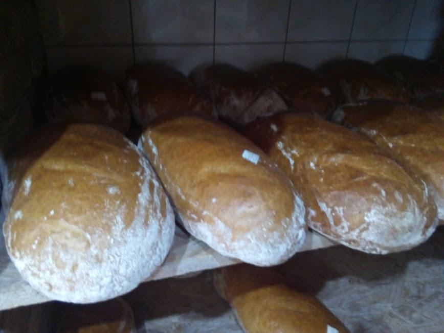 Gorący chleb z piekarni na Krupanka