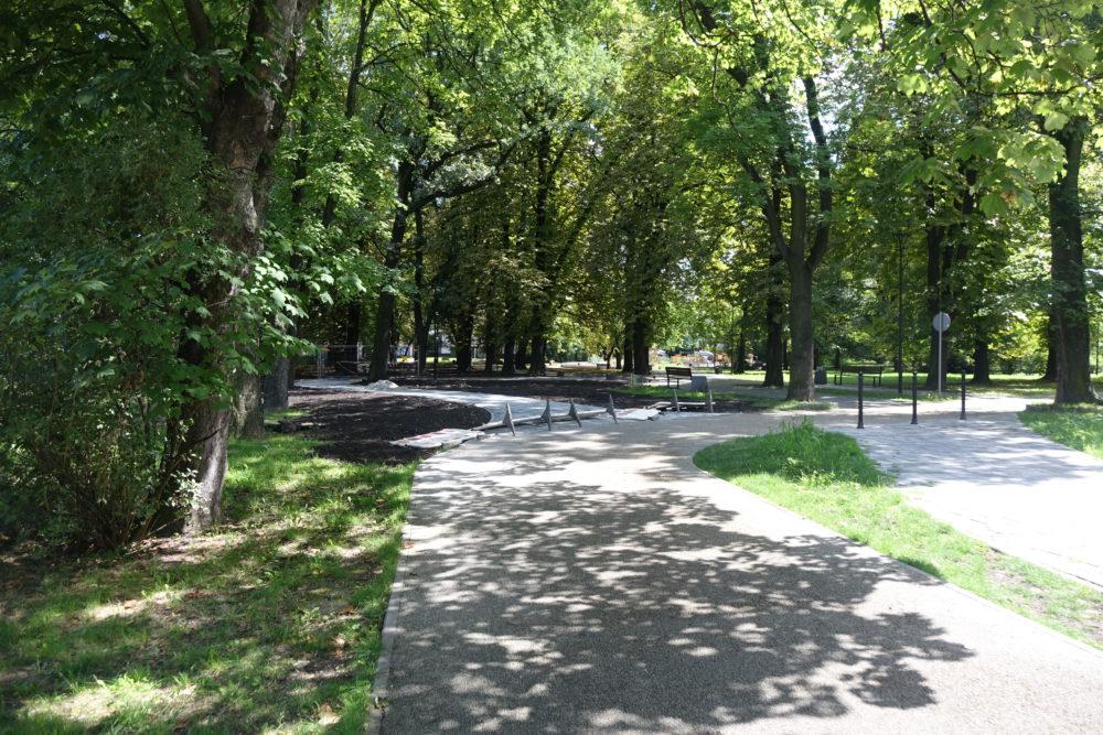 W Parku Hutnik trwa IV etap jego modernizacj