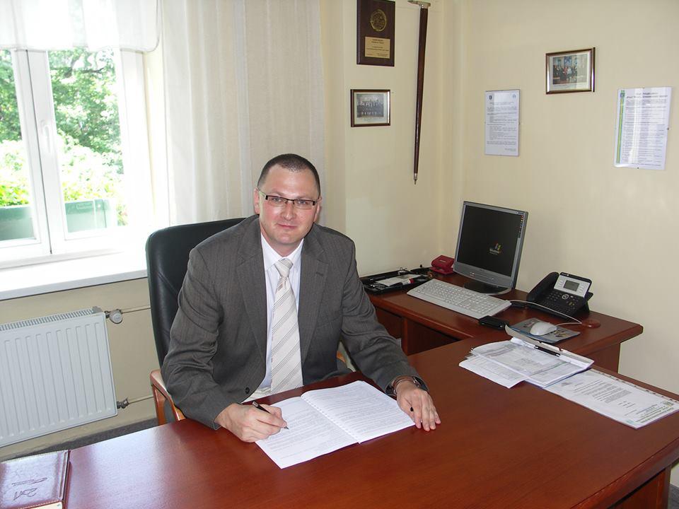 Przewodniczący Rady Miasta Adam Cebula.