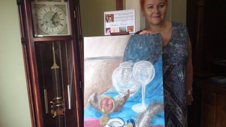 wystawa prac malarskich Pauliny Froncik