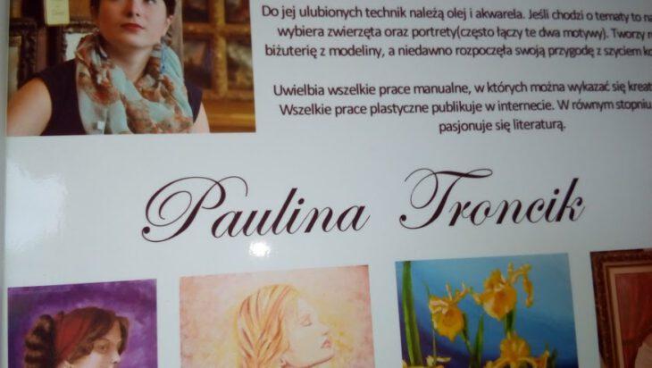 Wystawa prac Pauliny Froncik