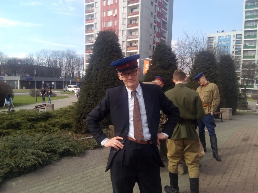 Autor jako secret agent of Kreml.