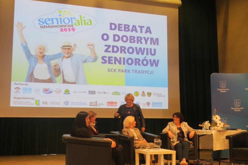 DEBATA O DOBRYM zdrowiu seniorów siemianowice 2019