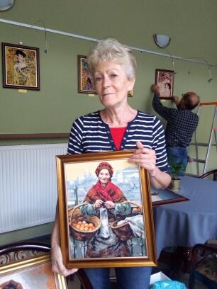 Haftowanie Klimta