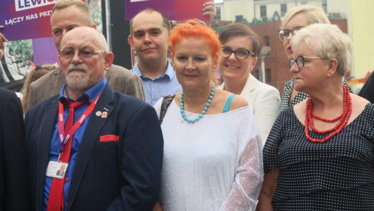 Małgorzata Groniewska (pośrodku) przez wiele lat była szefową Willi Fitznera SCK.