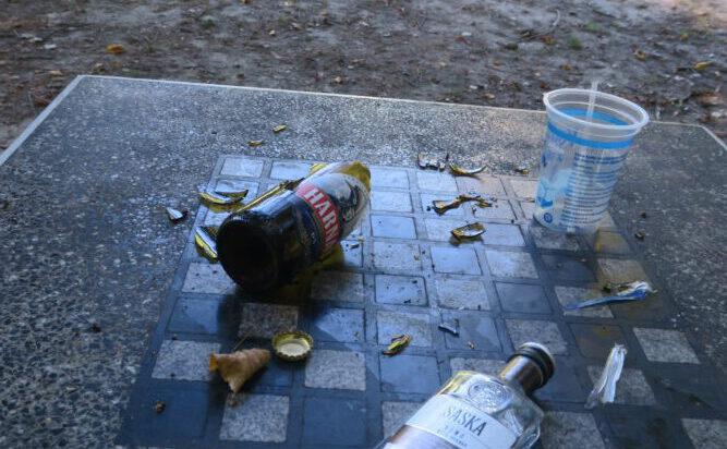 Skutki ostrej partii szachów w Parku Górnik. Kto wygrał?