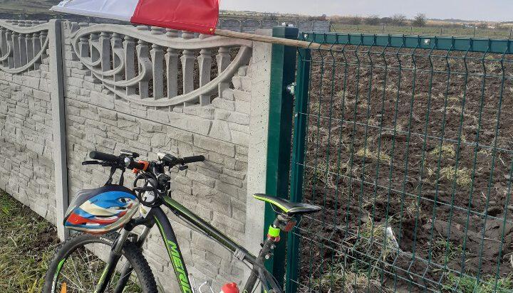 101 km na kole, na 101 rocznicę Niepodległości