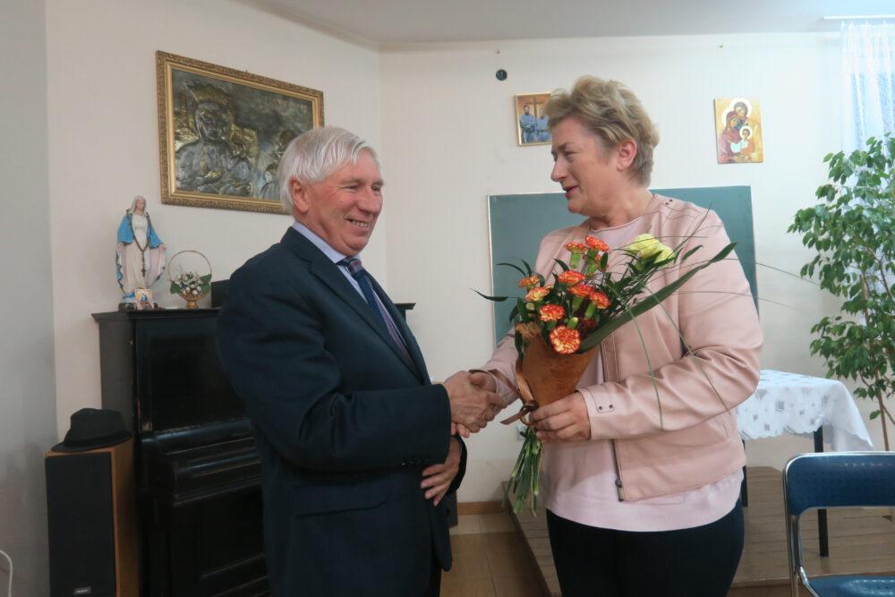 Prelegenta powitała radna siemianowicka Danuta Sobczyk, wiceprzewodnicząca KIK.