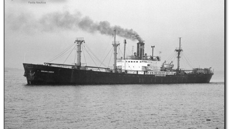 Statek typu Liberty, lata 50-te, Kopalnia Zabrze (bliźniacza jednostka Kopalni Siemianowice I).