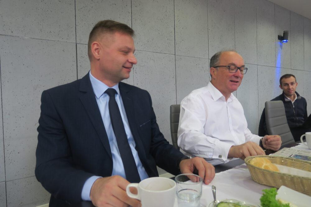 Posłowie Rafał Adamczyk i Włodzimierz Czarzasty.
