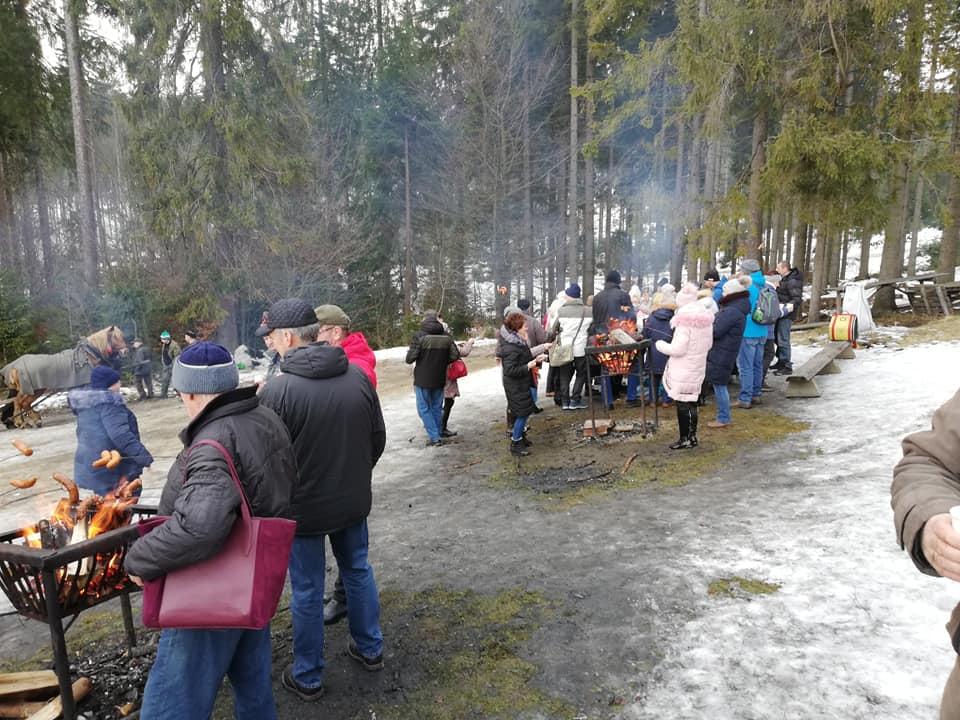 Tak było podczas wycieczki Związku Górnośląskiego z Michałkowic w Beskidy. Foto – Danuta Sobczyk