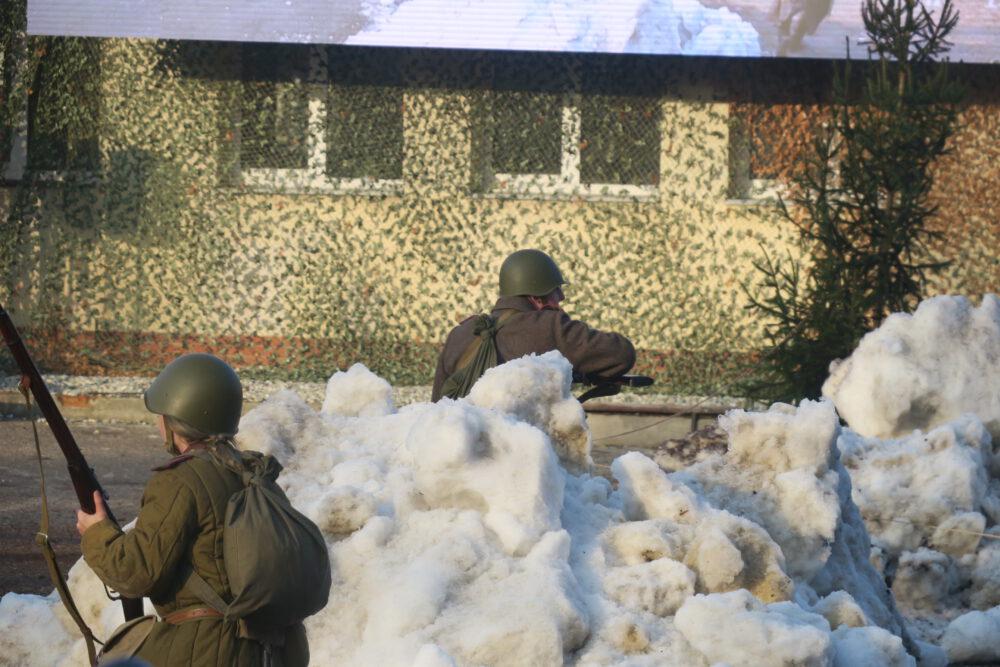 Rekonstrukcja kilkudniowych walk w rejonie Miechowic