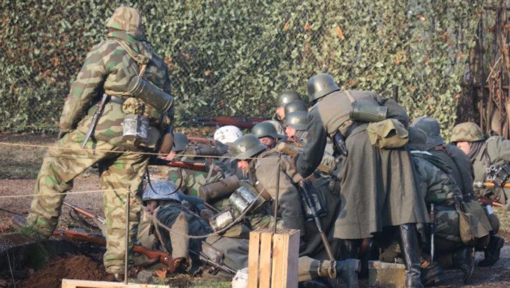 Żołnierze Wehrmachtu.