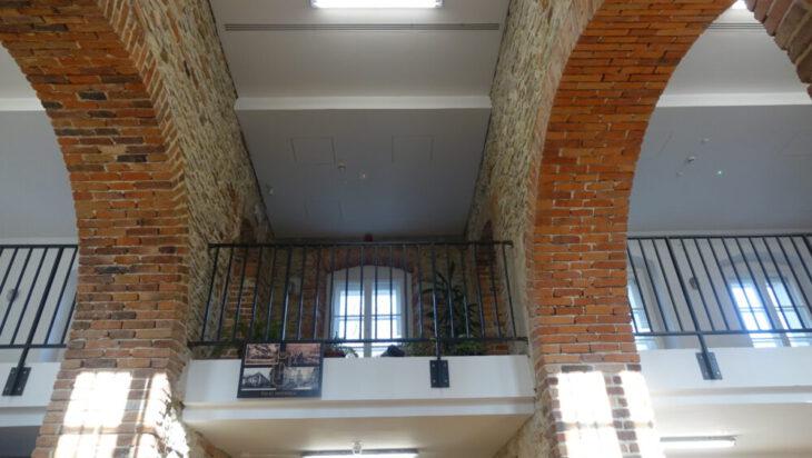 Fragment (niemal) wykończonego wnętrza przyszłej restauracji.