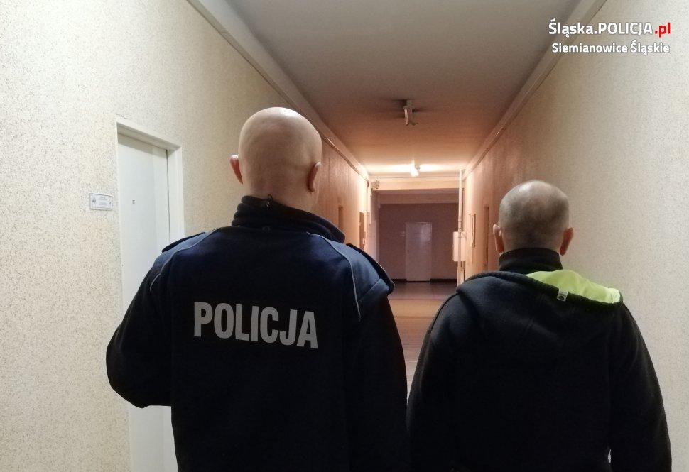 uciekał przed policją w siemianowicach