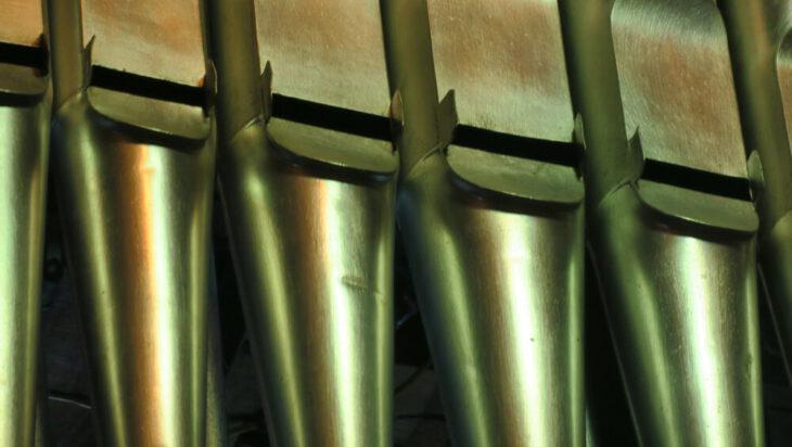 Takich piszczałek jest podobno w michałkowickich organach aż 2500.